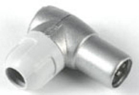 Coax Plug - Right Angled