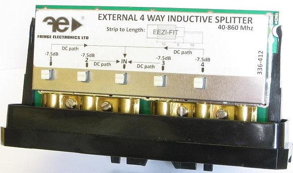 Fringe External 4 Way Inductive Splitter