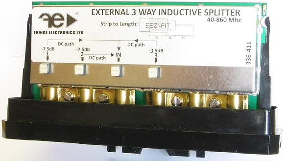Fringe External 3 Way Inductive Splitter