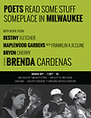 Poets Read Some Stuff Someplace in Milwaukee ft. Brenda Cardenas