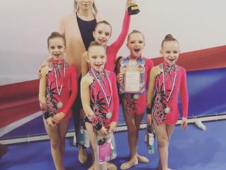 Балашихинские гимнастки завоевали 11 медалей