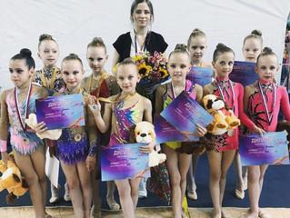 """Юные гимнастки достойно представили """"Центр гимнастики"""" GYMCLUB на турнире"""