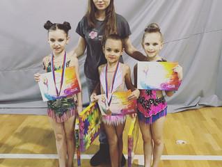 Балашихинские гимнастки завоевали 20 медалей