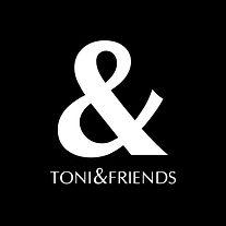 Toni&Friends Logo schwarz
