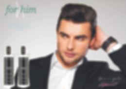 Linha For Him | Tratamento capilar masculino linha profissional