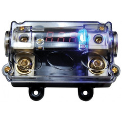 Audiopipe cq1221pd ANL fuse holder with LED volt display