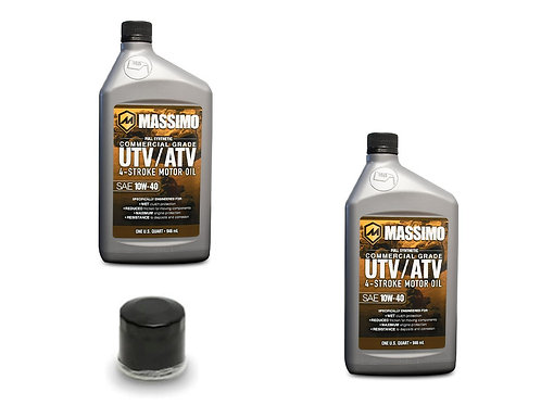 MASSIMO OIL CHANGE PACK (ONE OIL FILTER INCLUDED)
