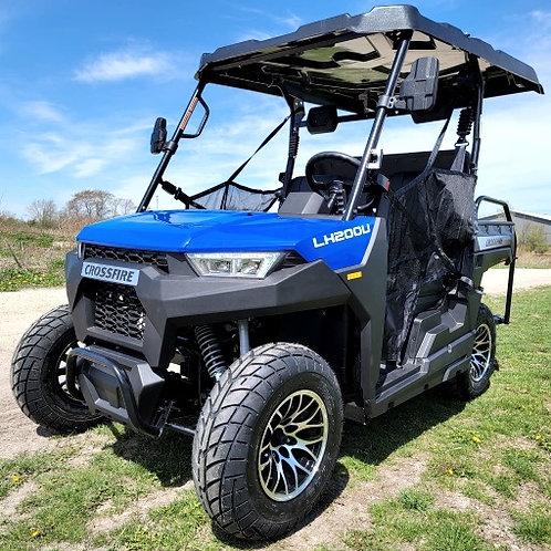 Crossfire 200 EFI - 4 Seater Street Legal Golf Cart