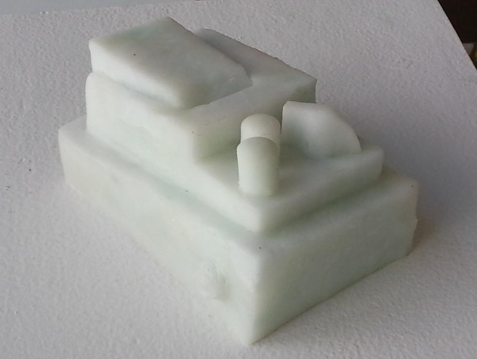 WHITE STOMPBOX