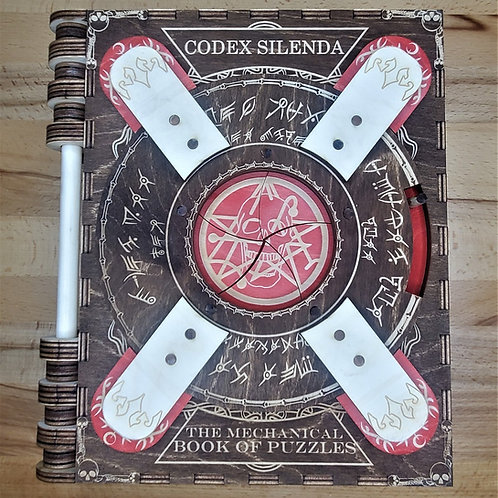 Red Necronomicon   2 Page Minimis   Themed Codex