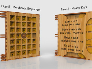 The Unveiling of the 6th & 7th Codex Puzzle Pages!
