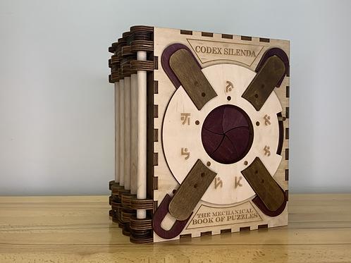Codex Silenda - Light Purple 5 Page Original