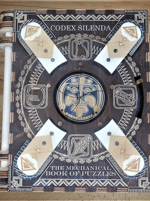 Black Mayan | 2 Page Minimis | Themed Codex