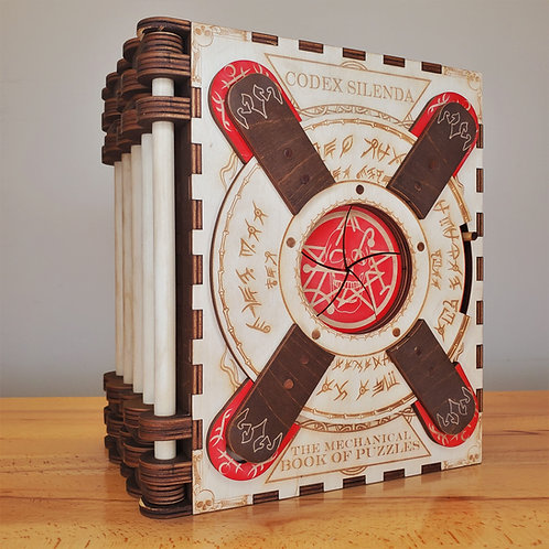 """Necronomicon - 5 Page Storybook"" Themed Codex Silenda"