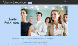 clarity-execution A booking website. Clients book and pay though web...
