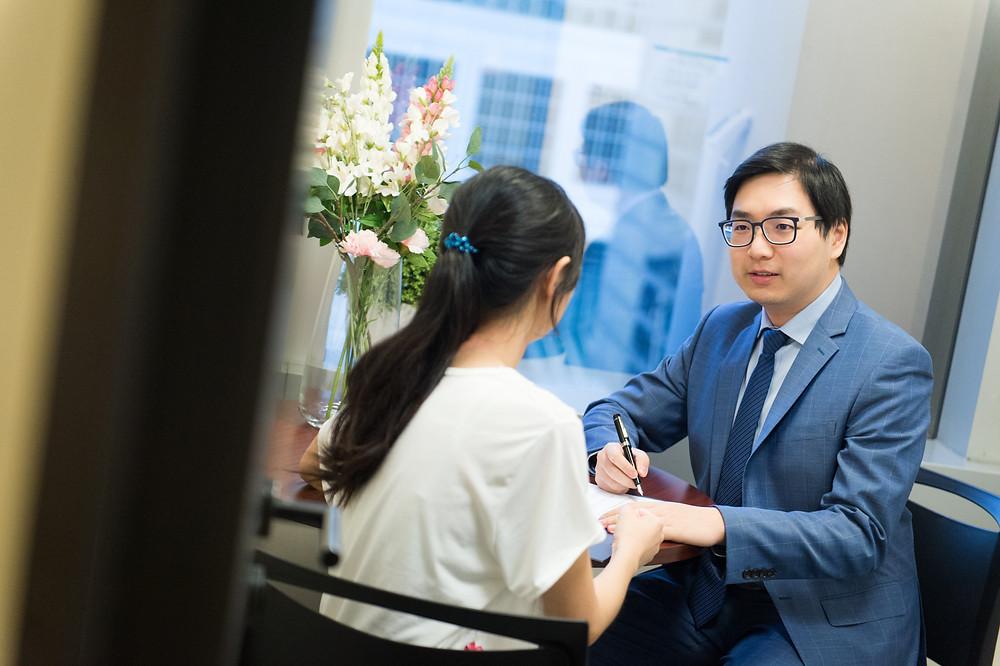 patients visiting