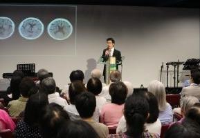 June 16th, 2018, Talk on stroke at Kong Fok Church, HK
