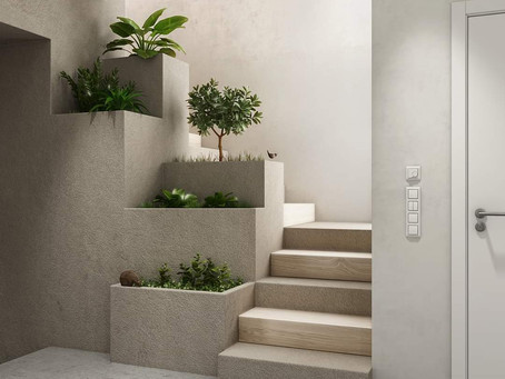 Greenery is a must for interiors..