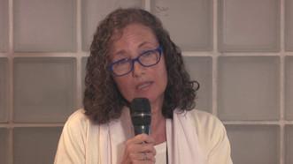 La Dra. Florencia Luna en una entrevista para Radio Nacional