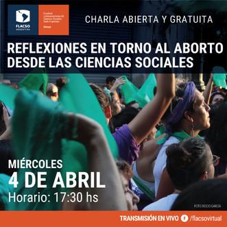 Charla Abierta sobre el aborto en FLACSO