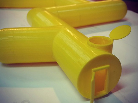 Секретный подземный стрелковый комплекс, напечатали на 3D принтере.