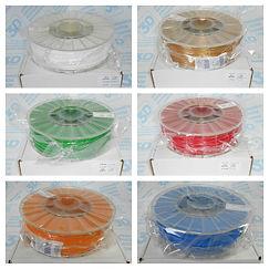 abs, pla, flex, hips пластики в рязани для всех 3д принтеров