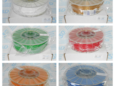АКЦИЯ 1 + 1 = 3 катушки пластика для 3D принтера по цене 2-х