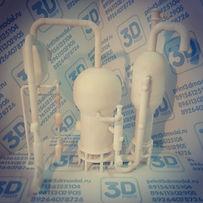 Макет для НПЗ на 3д принтере