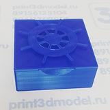Коробочка с штурвалом на 3д принтере