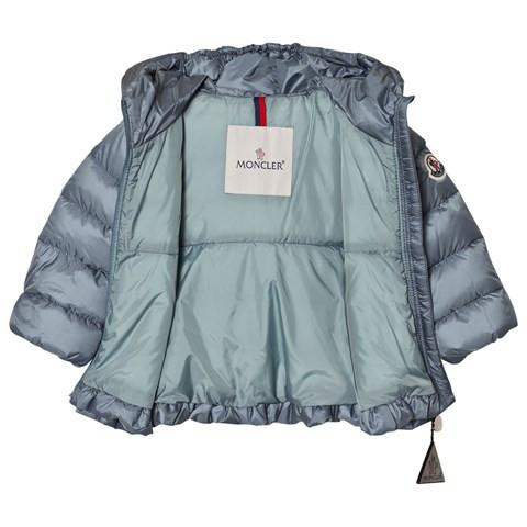 383176f91 Moncler Grey Blue Odile Puffer Jacket