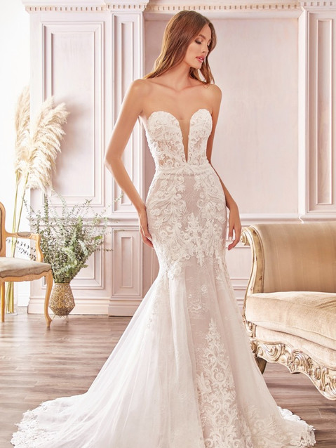 CD Nevada Sweetheart Lace Bridal Gown