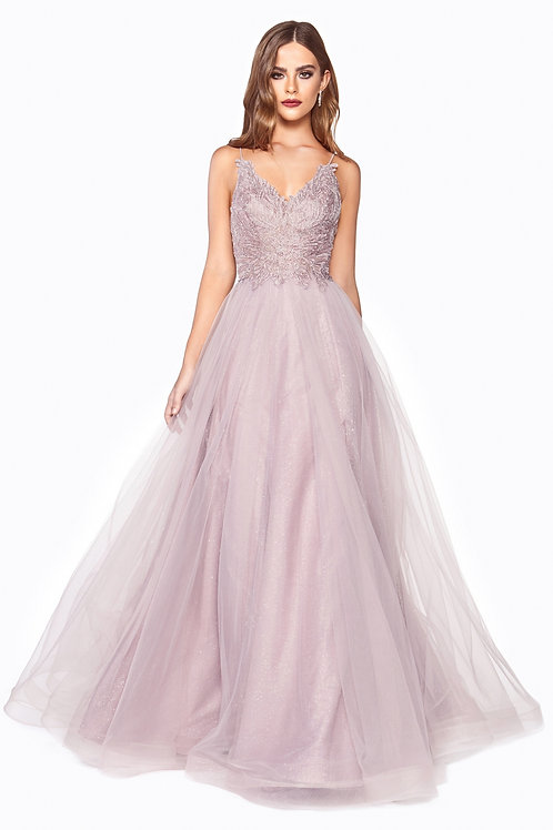 CD Scarlett Mauve Gown