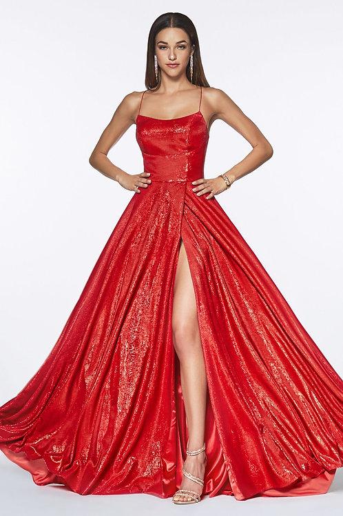 CD Belinda Red Gown