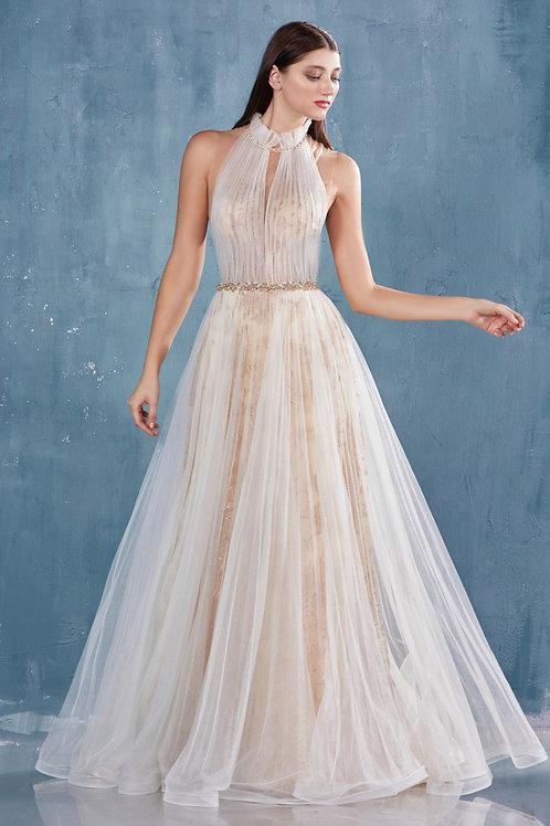 AL Moros Halter Gown