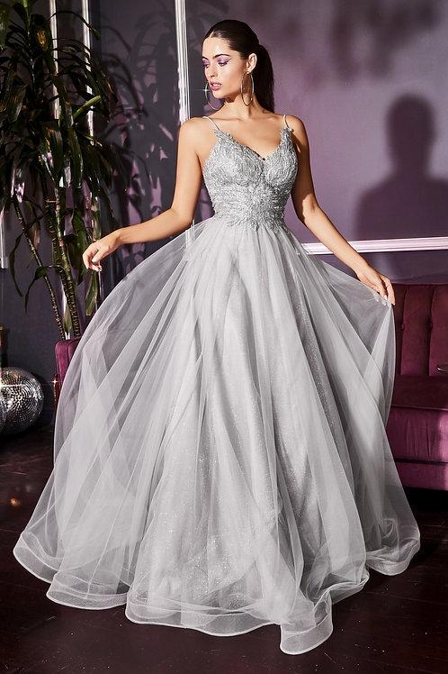 CD Scarlett Silver Gown