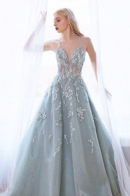 AL Sophia Sage Gown