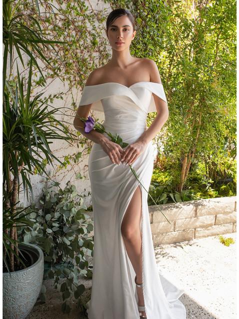 CD Hugo Bardot Gown Ivory