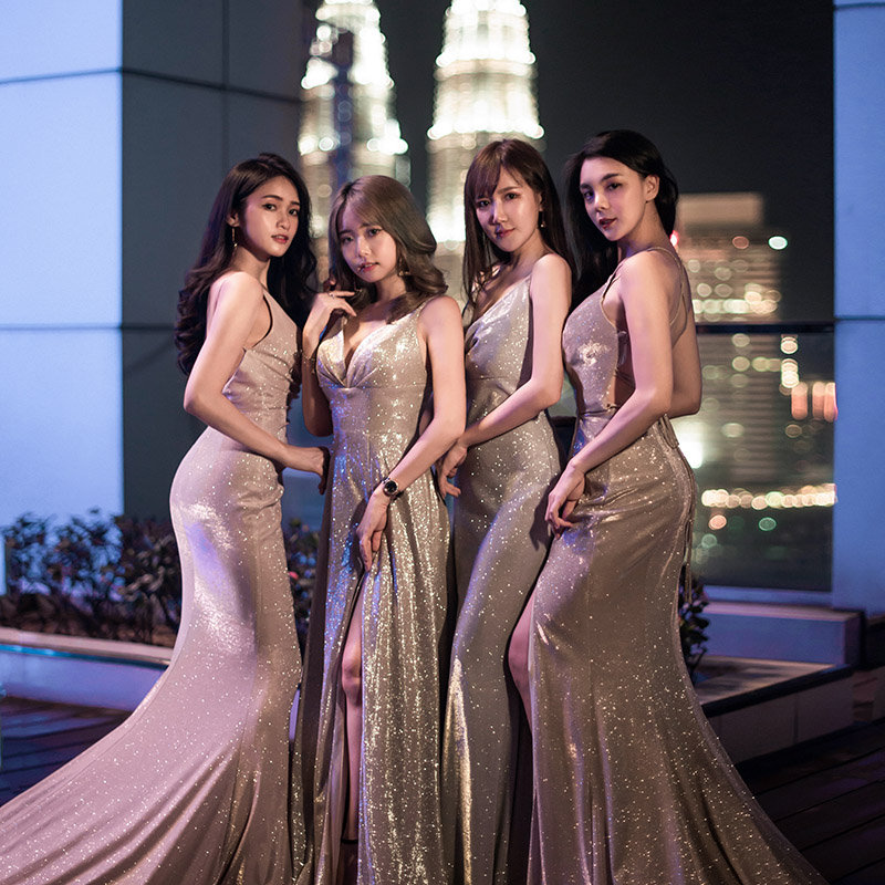 Fitting (Evening Gowns)
