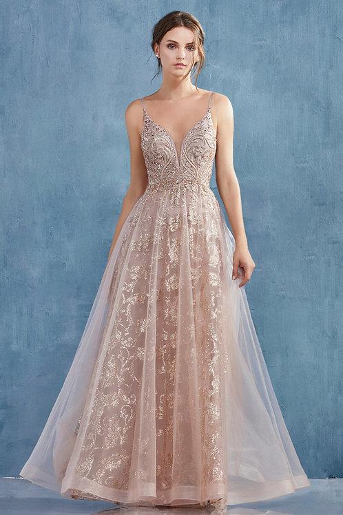 AL Arianna Rose Gold Gown
