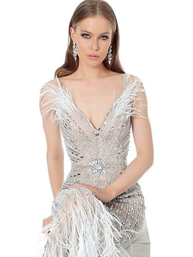 J Gatsby Furry Gown