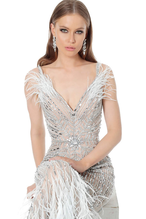 J Gatsby Furry Gown
