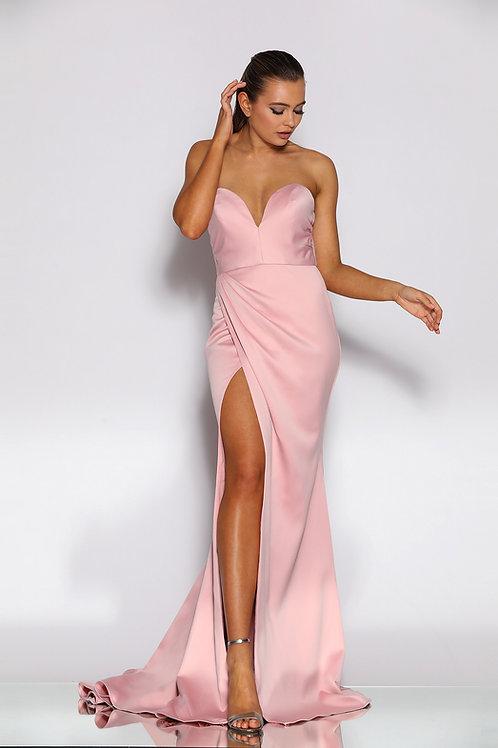 JA Blush Sweetheart Gown