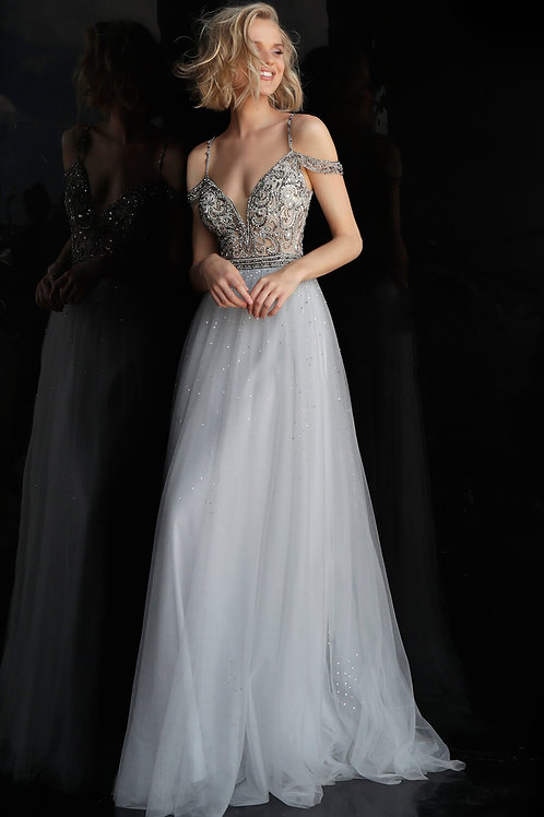 J Regal Bardot Gown