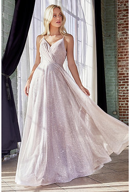 CD Aphrodite Rose Glitter Gown