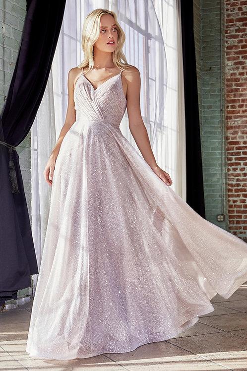 CD Aphrodite Rose Glitter Gown