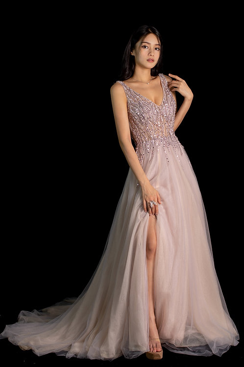 Lilac Bella Gown