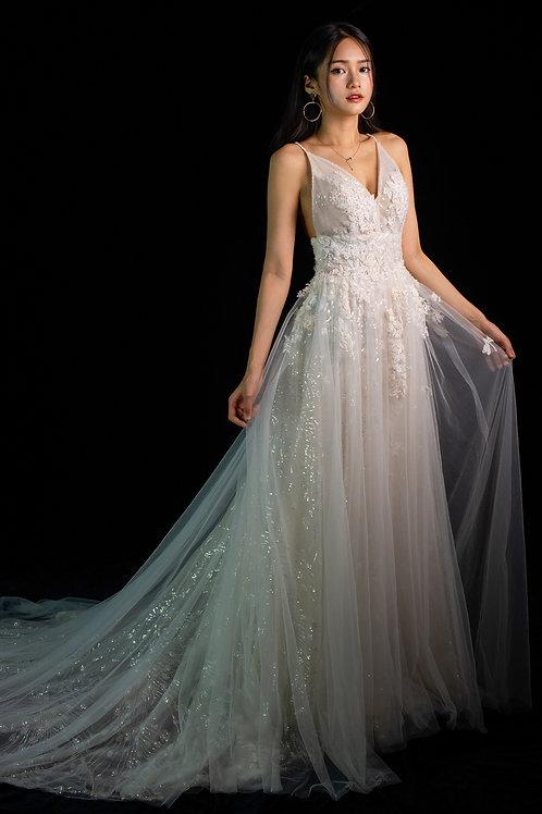 S Alyssa Lace Gown