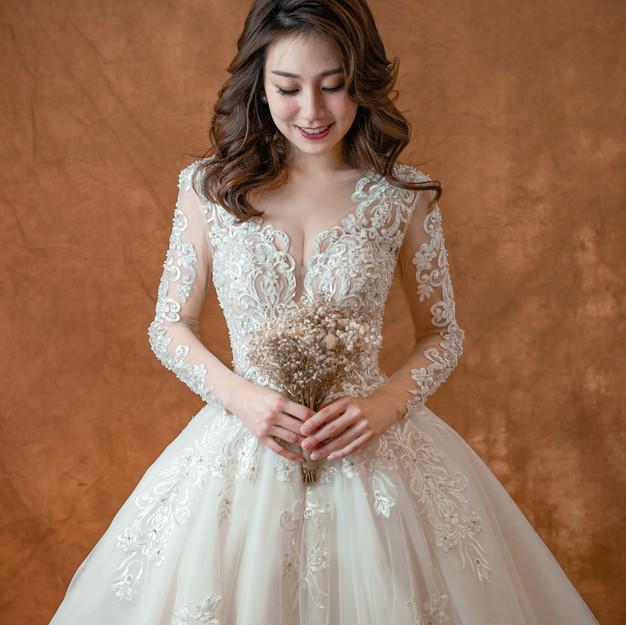 Juliette Long Sleeve Wedding Gown