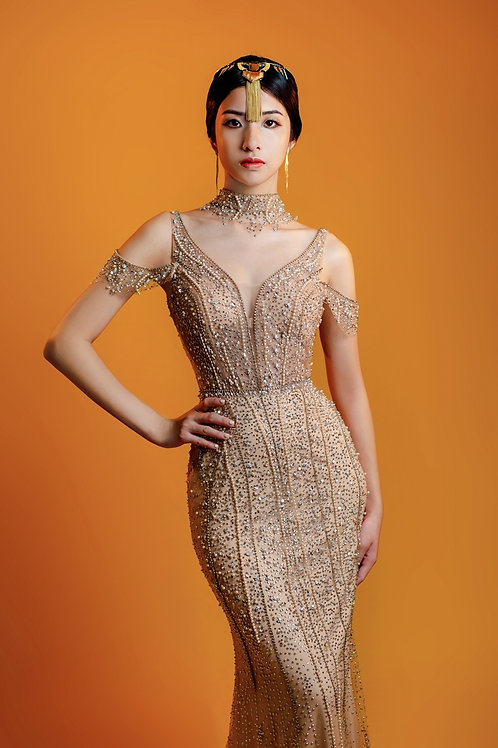 S Cleopatra Gown