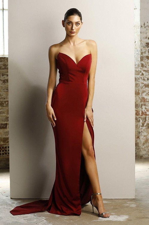 JA Bree Gown Red